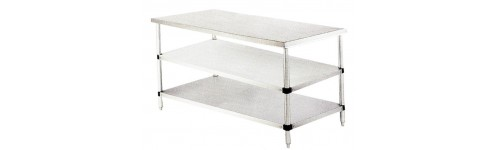 Worktables and Shelves