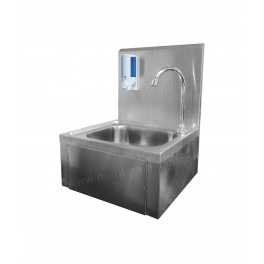 SS Knee Operated Hand Washing Sink