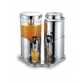 Juice/ Milk Dispenser with Stainless Steel Base